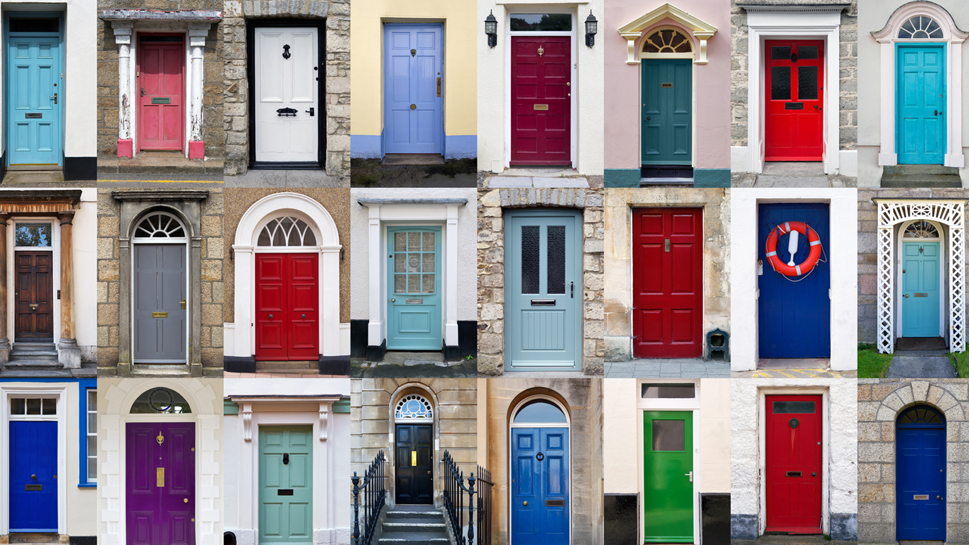door-colours